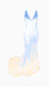 John Galliano Drop Waist Dress