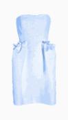 Saint Laurent Strapless Dress