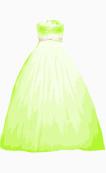 Reem Acra A Line Dress