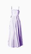 Halston Heritage A Line Dress