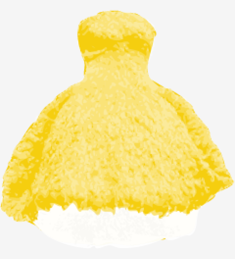 Mellow-yellow Alexander Mcqueen Bubble Dress