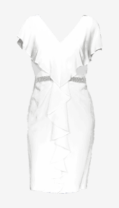 Soft-white Vivienne Westwood Fitted Dress