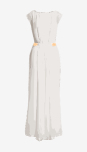 Soft-white Rick Owens A Line Dress