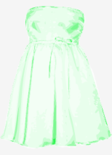 Bright-green Valentino A Line Dress
