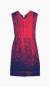 Alberta Ferretti Shift Dress